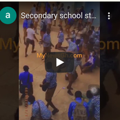 Video: Senior Students Flog Their Juniors Heavily As Welcome Back To School Packages