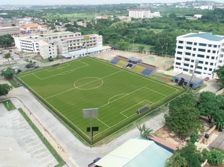Beautiful Photos Of UPSA AstroTurf That Is First Among Ghana Universities