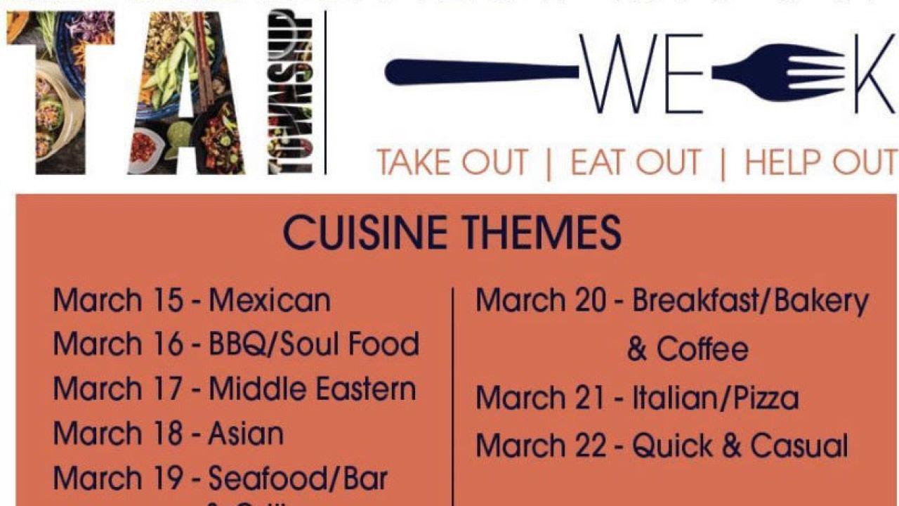 Restaurant week in Delta Township kicks off March 15