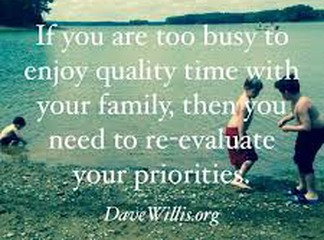 Why the quality time we spend with our families  matters  and not quantity