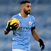 Mahrez become the sixth African to make 100 goals contribution in the premier league.