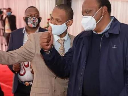 'He Would be Planning to Throw Stones at me' President Uhuru to Babu Owino on Handshake with Raila