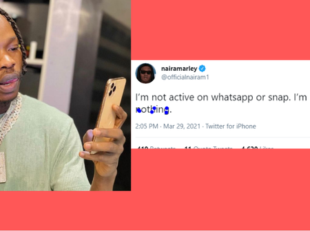 Naira Marley Sends Message To Fans