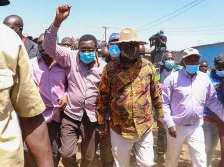 Raila Wins Huge Support at Githurai For BBI