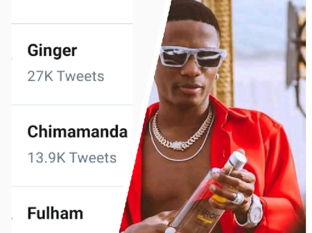 See why Wizkid is trending on Twitter