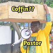 Prominent Archbishop Spotted Carrying Coffin On The Street, Claims He Was Assigned By God (Photos)