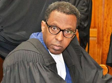 Jubilee Lawyer Makes 'Dangerous' Claims On Alleged Ksh1 Trillion Borrowed By Kenyan Government