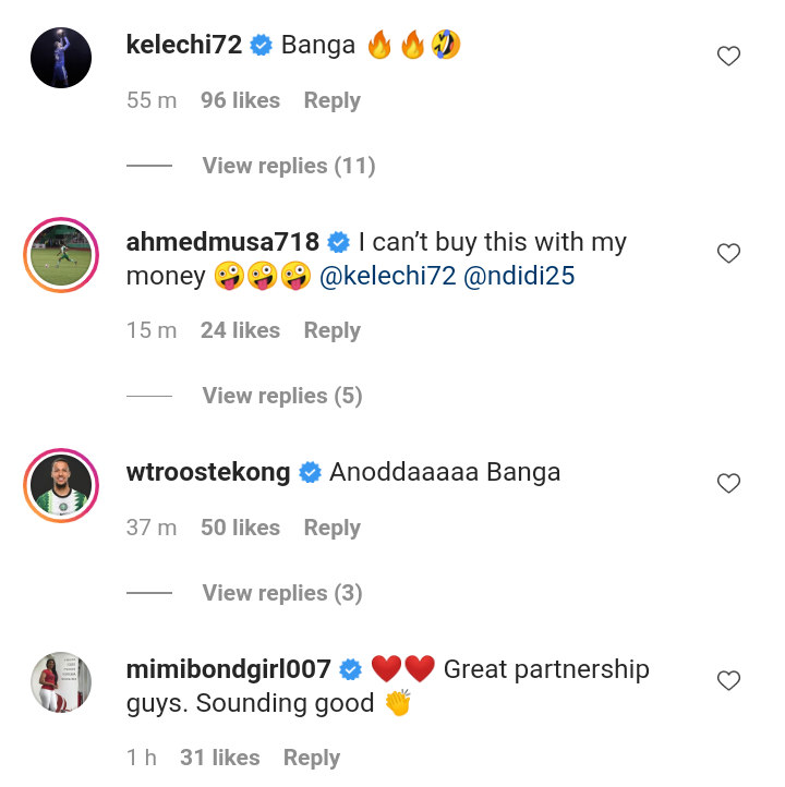 Super Eagles starts react to a video of Iheanacho and Ndidi doing a rap challenge