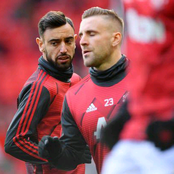 Luke Shaw Place Another Teammate Over Bruno Fernandes, As The Most Important Player In The Team