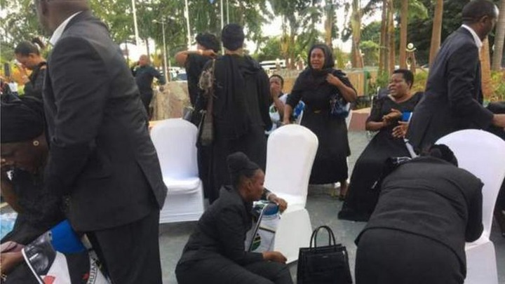 1ceebcef496949eca1a803d744f29542?quality=uhq&resize=720 - Day 2: Sad Scenes From Tanzania As Their President, John Magufuli Funeral Rites Proceeds - Photos
