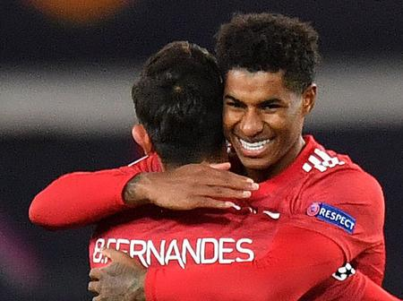 Bruno Fernandes Reveals Why He Let Marcus Rashford Take The Penalty