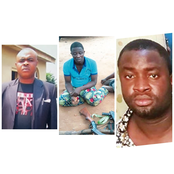 Three Nigerian pastors who were caught and Jailed for alleged armed robbery
