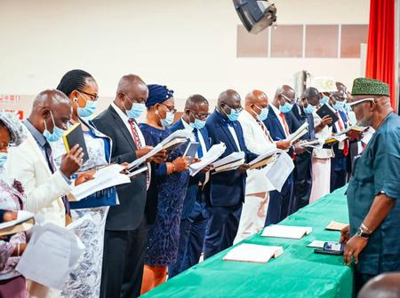 Photos:Ondo Newly Appointed Permanent Secretaries, Tutor General Swon-In