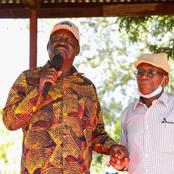 Raila Meets Prison Guard Who Risked His Life To Make Sure He Had Communications While In Prison