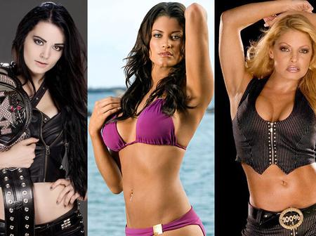 Check out 10 most beautiful WWE female divas of all time.