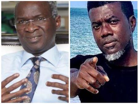 After Babatunde Fashola Openly Said Nigerian Roads Are of Global Standard,  See Reno Omokri's Reaction