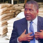 Reactions as Dangote says,