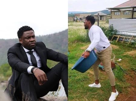 Recent Pictures Of Uzalo Actor, Wiseman Ncube, Has People Wondering If He Is Poor