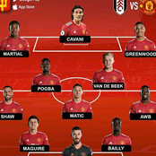 Manchester United Strongest 4-3-3 Squad that Can Beat Fulham 6-0 Tonight - Opinion