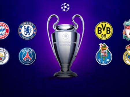 Who is your team facing? Check it out UEFA Champions League