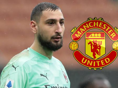Manchester United Should Move To Bring This Italian Wall To Old Trafford To Replace David De Gea