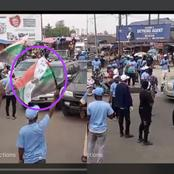 Reactions as Yoruba Nation supporters stage rally in Ibadan
