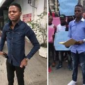 Read The Real Identity of the Man who Warned #Endsars protesters in Abuja that got People Talking.