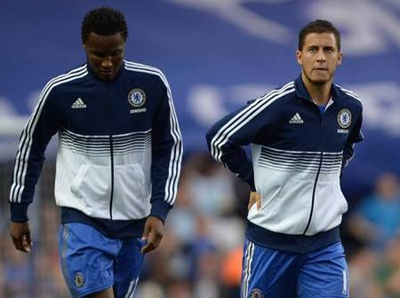 Mikel Obi Reveals What Hazard Said About Reaching The Level Of Messi And Ronaldo.