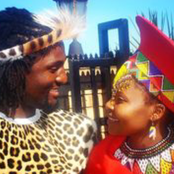 Actor Muzi Mthabela Shares His Wedding Picture
