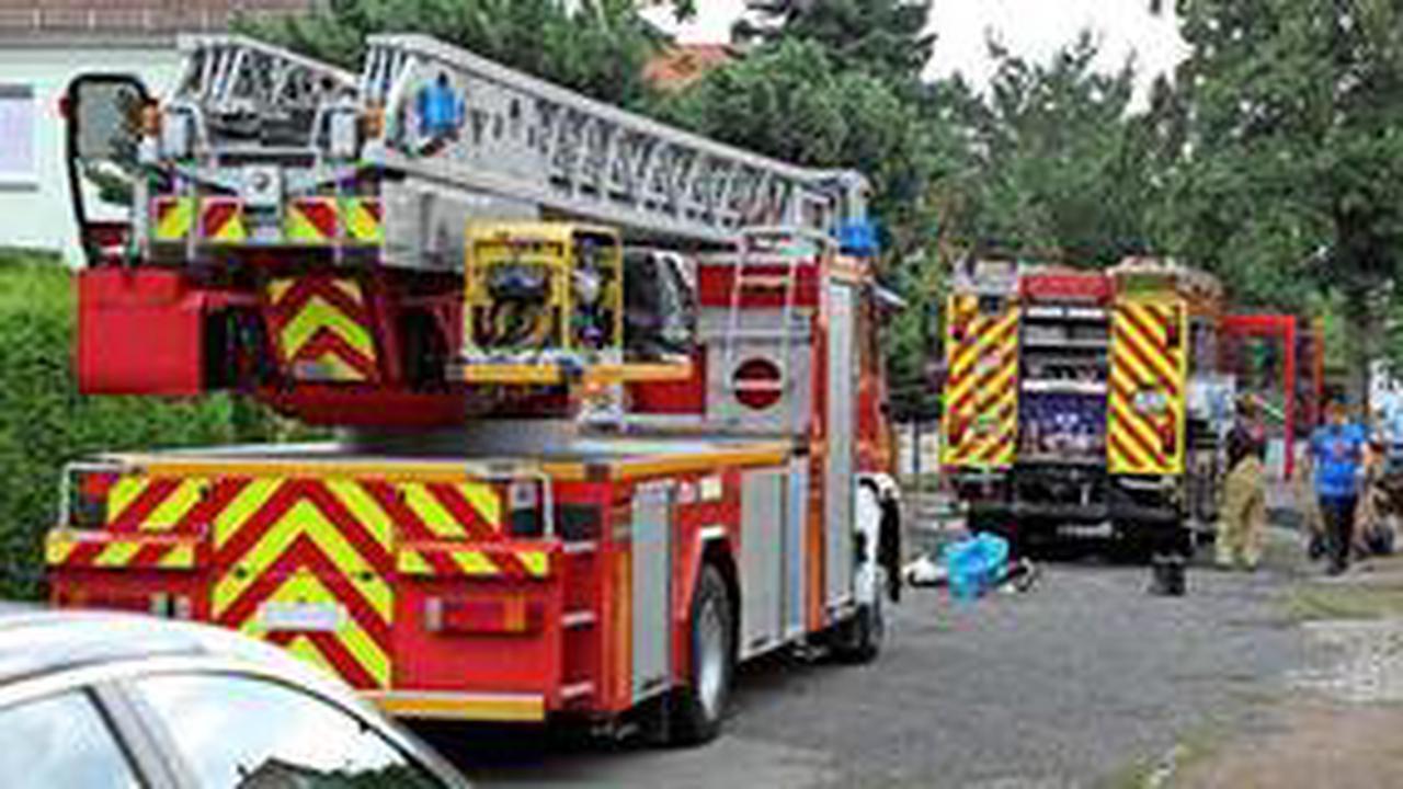 Sofa in Dresden-Meußlitz geht in Flammen auf