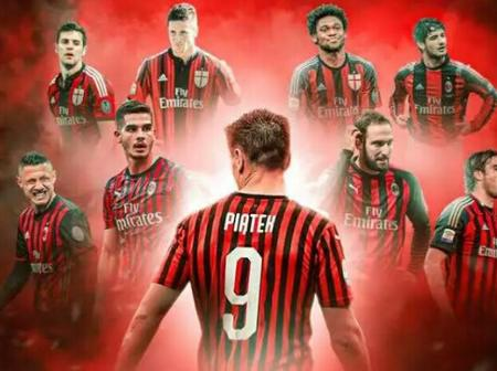 AC Milan Players That Suffered The Curse Of The No. 9 Jersey