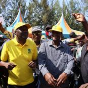 Tangatanga mps pitch tent in Kabuchai campaigning for UDA candidate