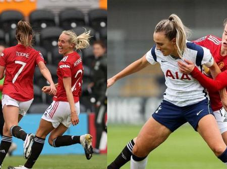Check Out What Manchester United Fans Are Saying After Man Utd Women Beat Tottenham Women 1-0