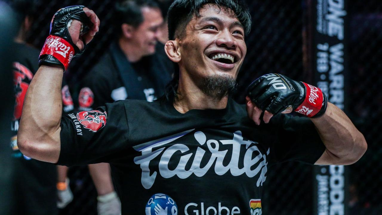 Adiwang eyes to be among top ONE strawweight fighters with Pacio