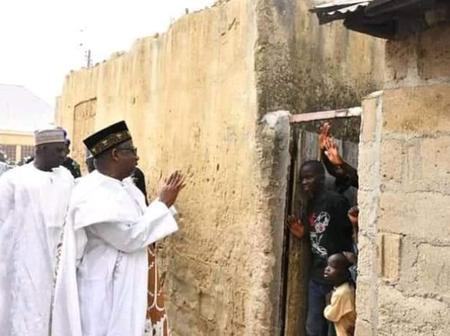 Is He The Most Humble Governor In Nigeria ? See How This Governor Interacts With Poor People
