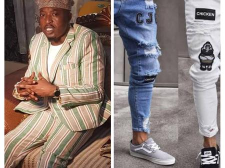 Photos - Oluwo tasked FG to Ban Foreign Jeans and Promote Local Fabrics, branded as Telu Jeans