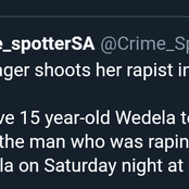 Brave Teenager Shoots Her Rapist