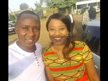 Charming Photos Kanze Dena's Baby Daddy And Current Husband Who is Younger Than The Journalist