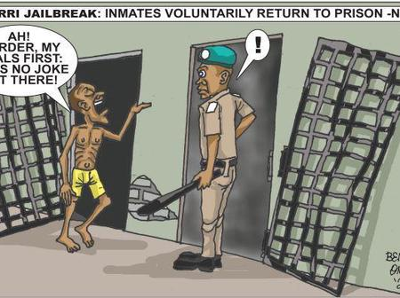 Cartoon About Imo Prison Break Sparks Different Reactions On Social Media