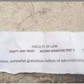 See The Law School Exam Question That Sparked Reaction