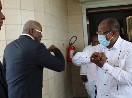 Côte d'Ivoire : le Pr Georges Armand Ouegnin aux côtés de Pascal Affi N'guessan