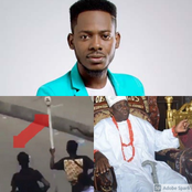See What Adekunle Gold Asked About The Oba Of Lagos Stolen Royal Staff That Got People Talking