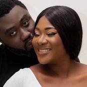 Check Out Lovely Photos Of Mercy Johnson And Her Husband After 10 Years Of Marriage.