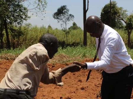Bungoma Governor Wycliffe Wangamati Has Touched the Lives of a Disabled Man