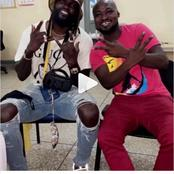 Adebayor reunites with Funny face