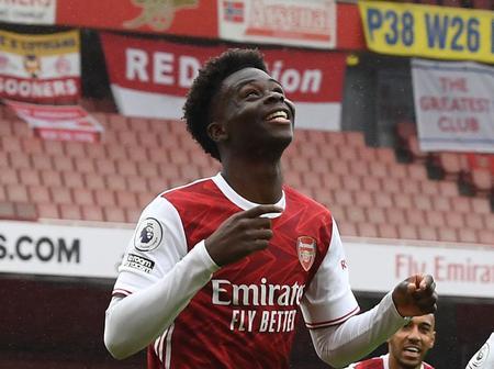 Bukayo Saka among top 20 candidates for 2020 Golden Boy Award