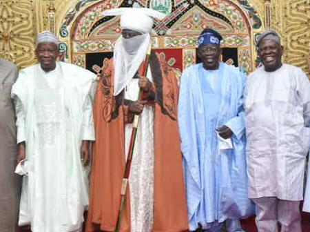 After Tinubu Celebrated His Birthday In Kano And Visted The Emir, See What Nigerians Are Saying