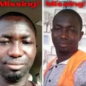 36-year-old man is reported missing today