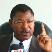 Keep Off Ford-K Matters, Wetangula Tells Wamunyinyi