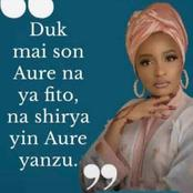 The Reaction Of Kannywood Actress Rahama Sadau After Idon Mikiya Published False Story About Her